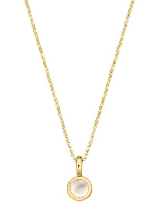 Collier Pommy Small van zilver goud verguld