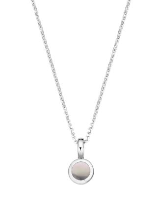 Collier Pommy Grey Small van zilver